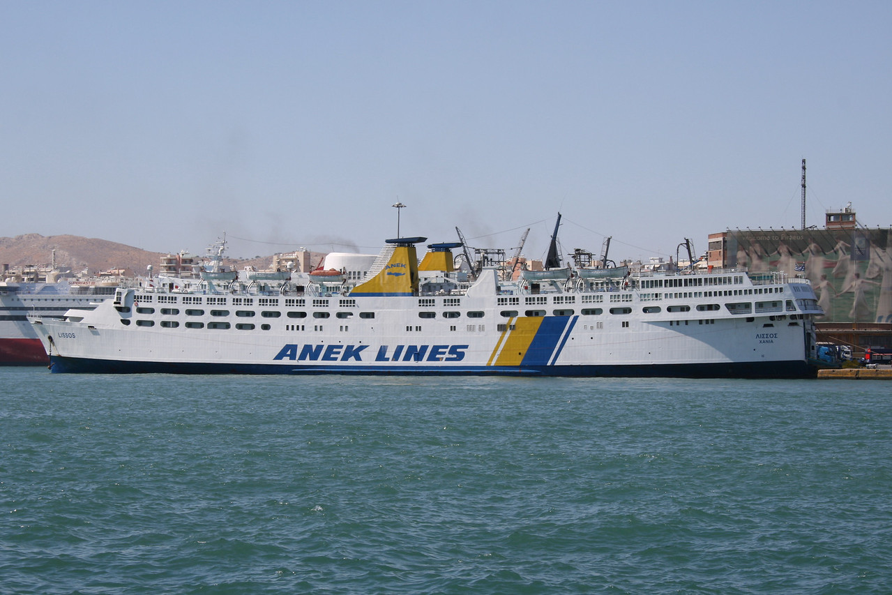 2009 - F/B LISSOS in Piraeus.