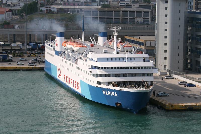 2008 - F/B MARINA in Piraeus.