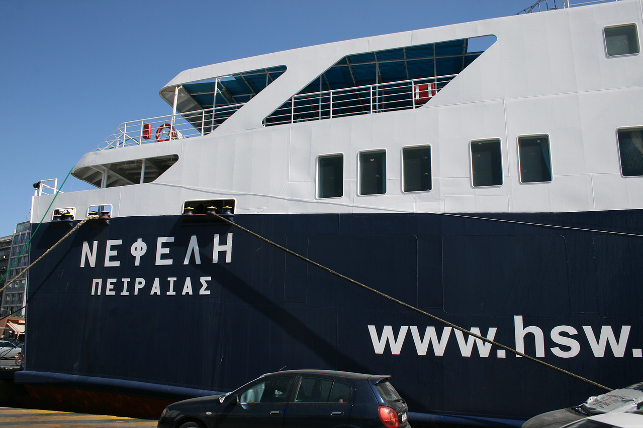 2009 - F/B NEFELI in Piraeus.
