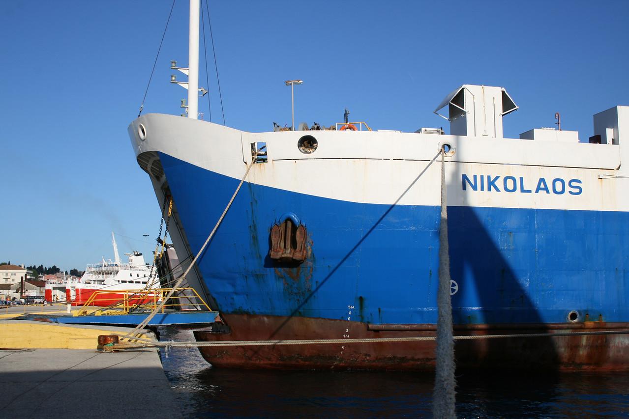 2010 - F/B NIKOLAOS in Corfu.