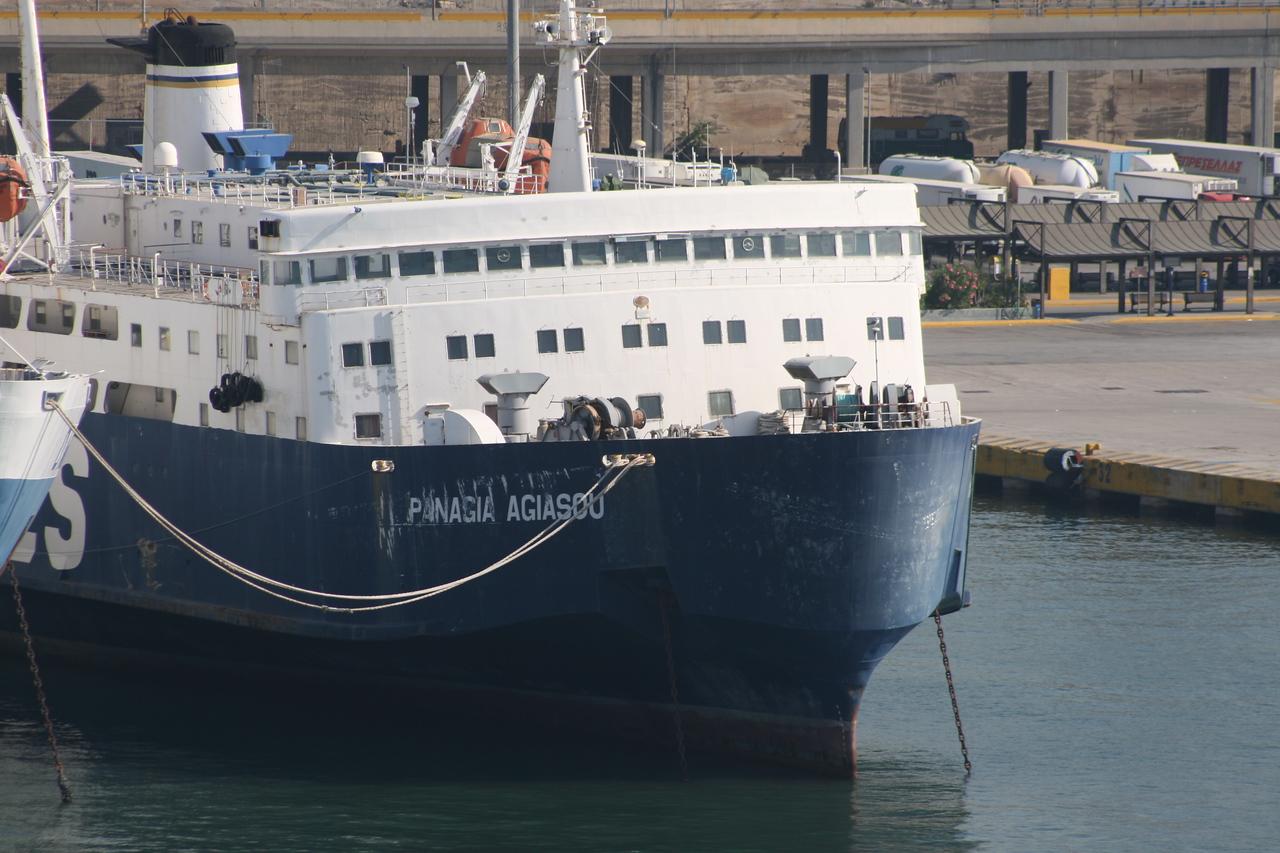 2011 - PANAGIA AGIASOU still laid up in Piraeus.