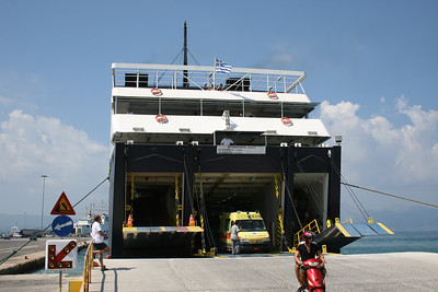 2009 - F/B PANTOKRATOR arrived to Corfu.