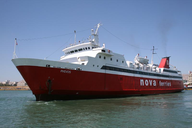 2009 - F/B PHIVOS arriving to Piraeus from Aegina.
