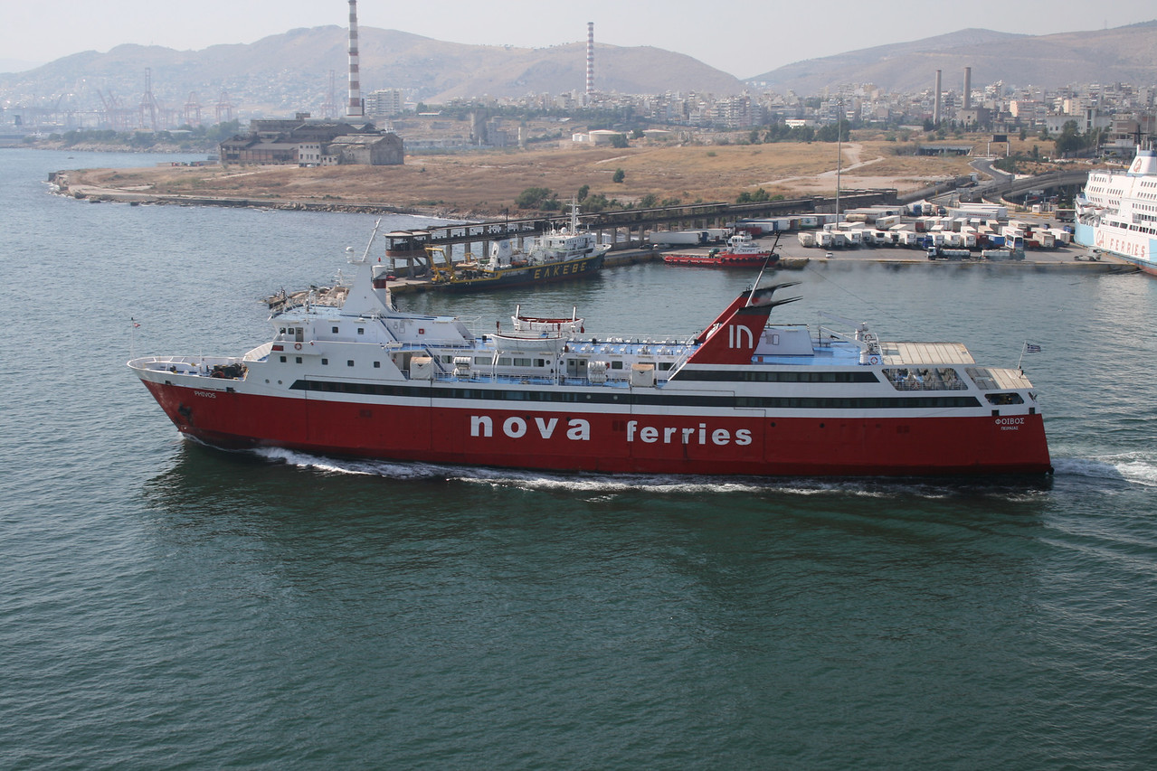 2011 - PHIVOS departing from Piraeus.