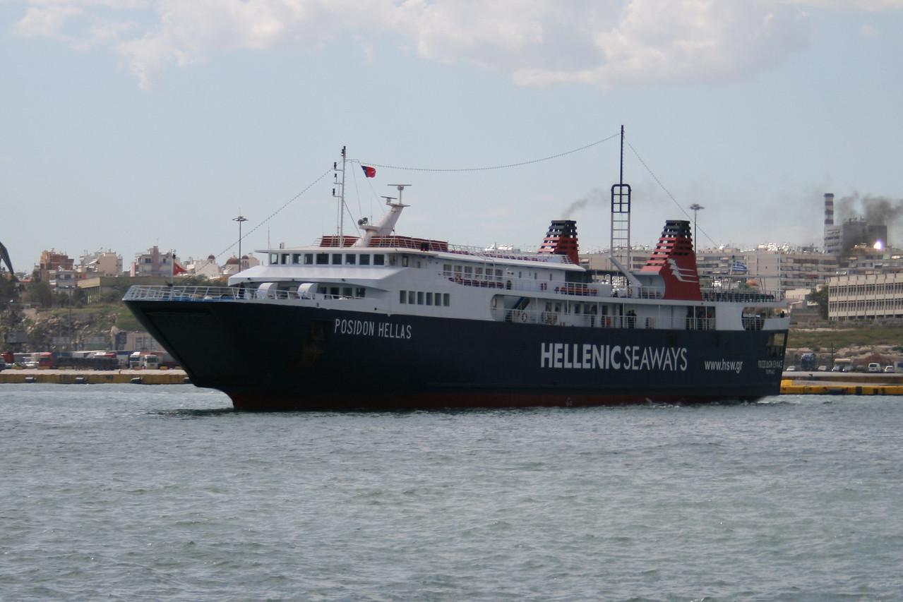 2008 - F/B POSEIDON HELLAS in Piraeus.