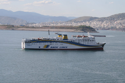 2008 - F/B PREVELIS arriving to Piraeus.