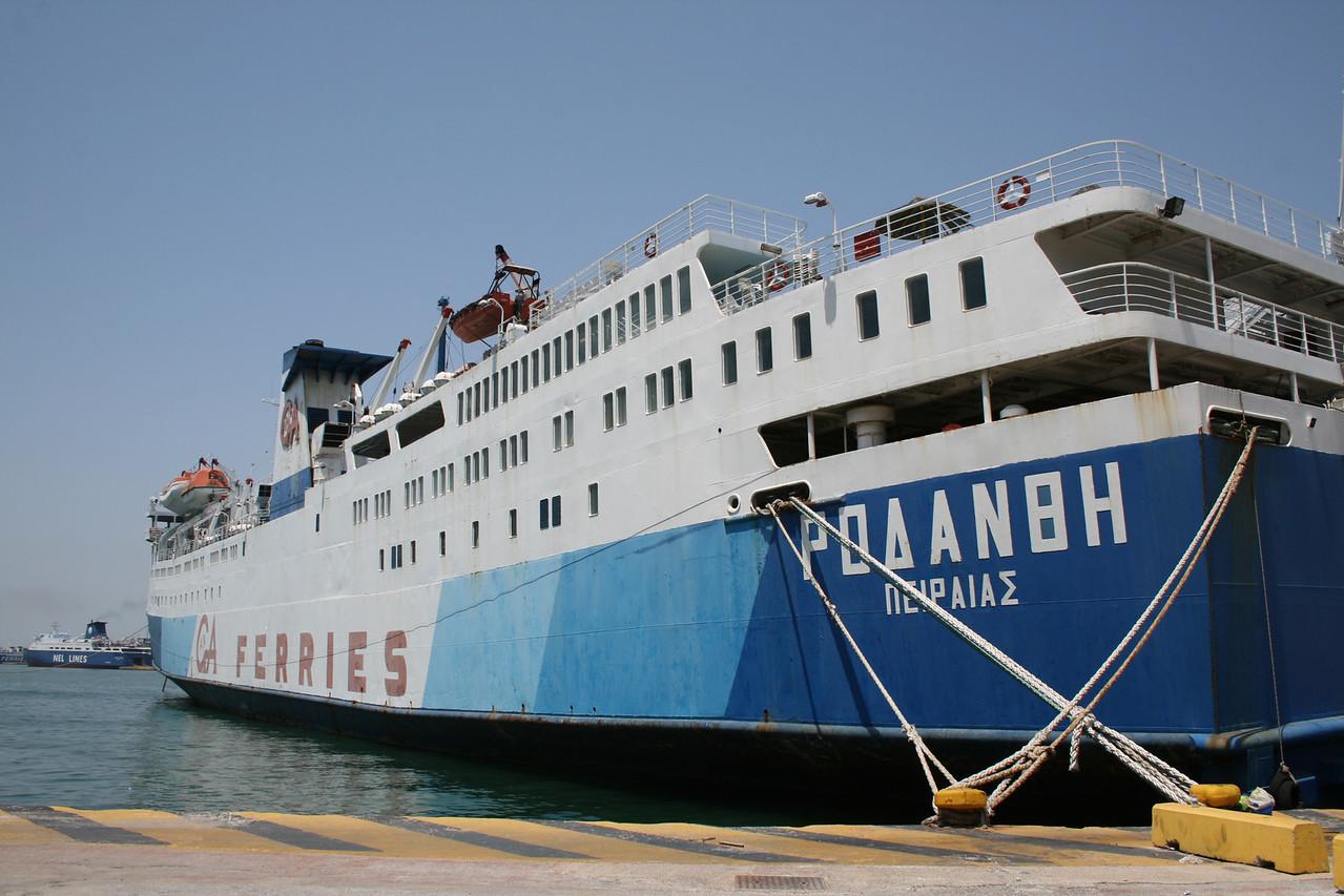 2011 - F/B RODANTHI laid up in Piraeus waiting for scrap.