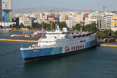 2009 - F/B ROMILDA laid up in Piraeus.