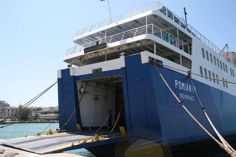 2009 - F/B ROMILDA laid up in Piraeus.