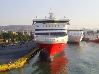 2012 - SUPERFAST XI in Piraeus.