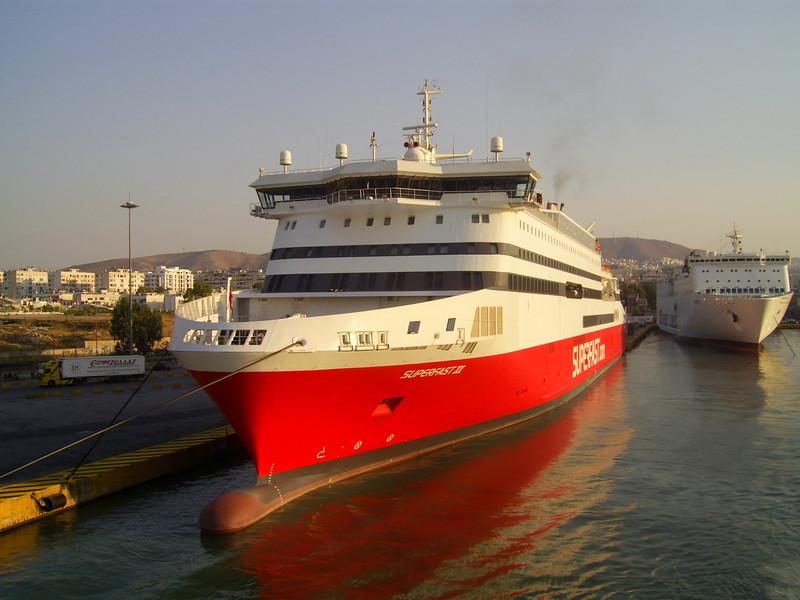 2012 - SUPERFAST XI in Piraeus.