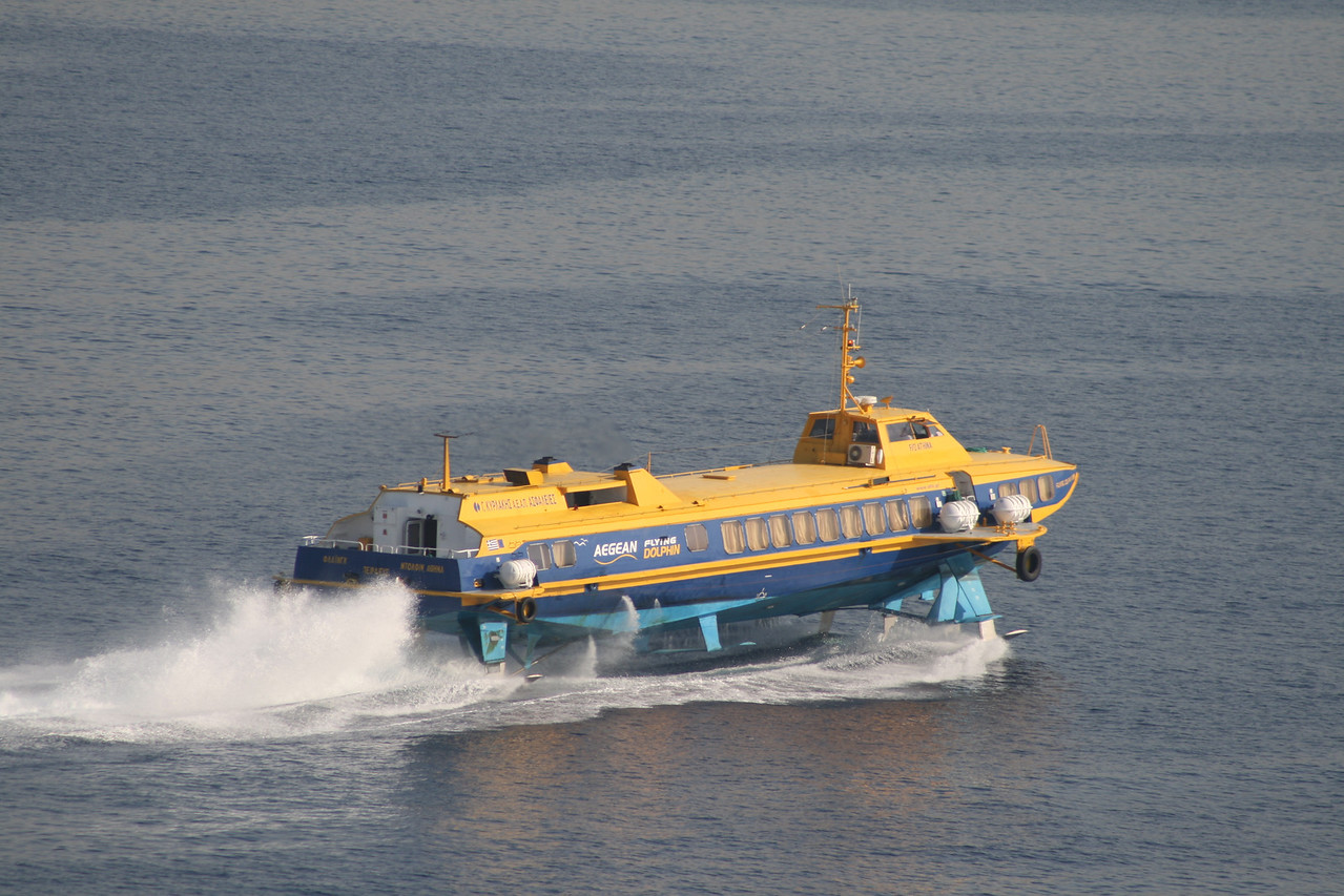 2011 - Hydrofoil FLYING DOLPHIN ATHINA at sea.
