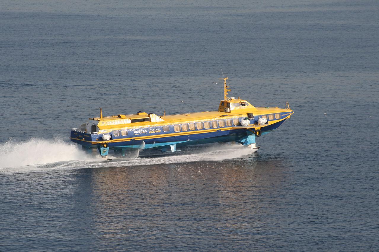 2011 - Hydrofoil FLYING DOLPHIN ATHINA at sea.