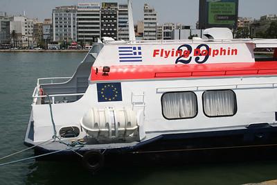 2011 - Hydrofoil FLYING DOLPHIN XXIX in Piraeus.