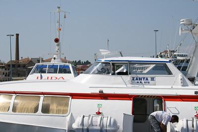 2009 - H/F SANTA III in Corfu.