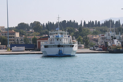 Open ferry ASPASIA in Corfu.