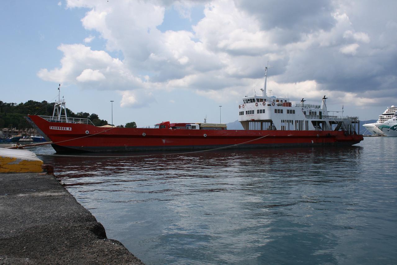 2008 - THEODORA R. in Corfu.