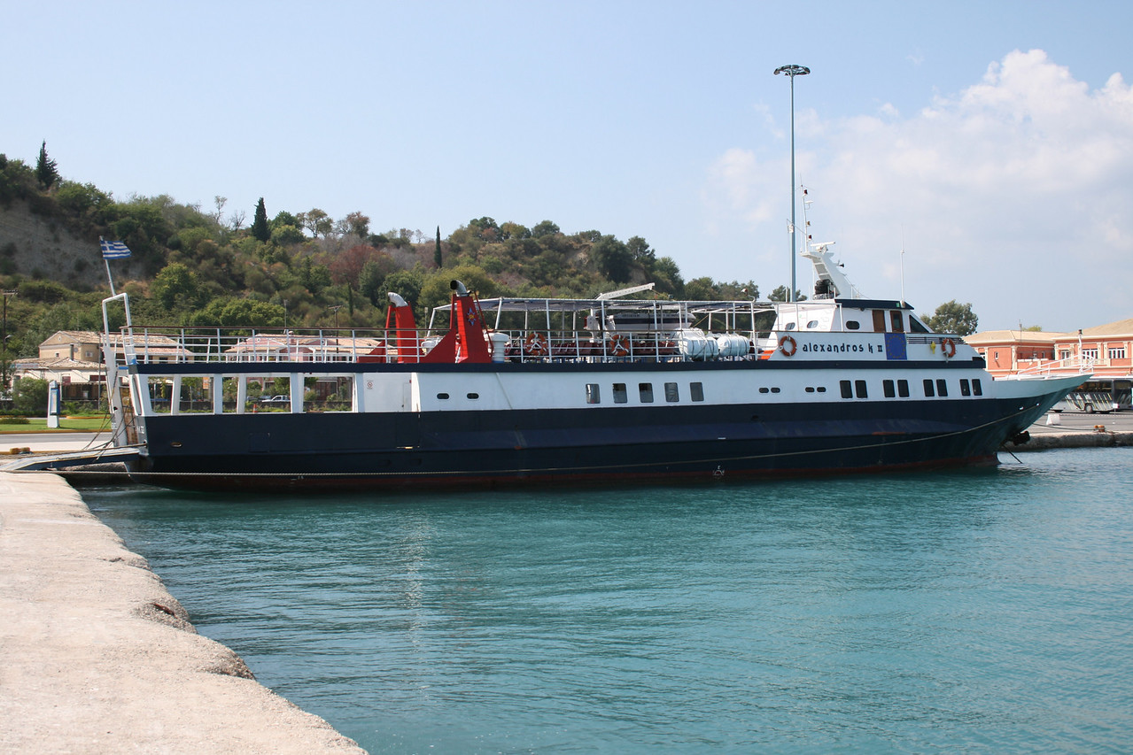 F/B ALEXANDROS KII in Corfu.