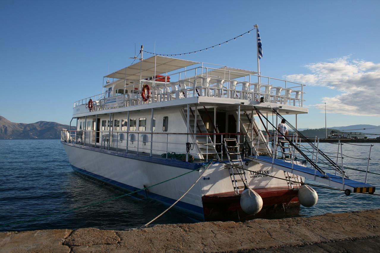 2010 - M/V CHRISTINA in Corfu.