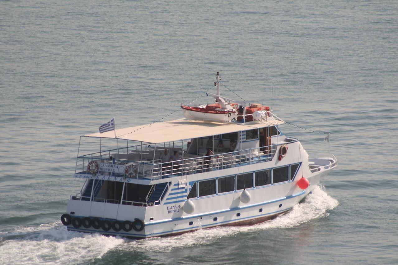 2011 - ELENA F arriving to Piraeus from Salamina.