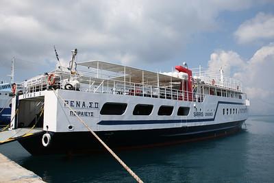 2010 - F/B RENA S II in Corfu.