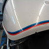 Classic Final Edition colors - Pearl White and Motorsports pinstriping.