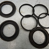 Old caliper piston seals.