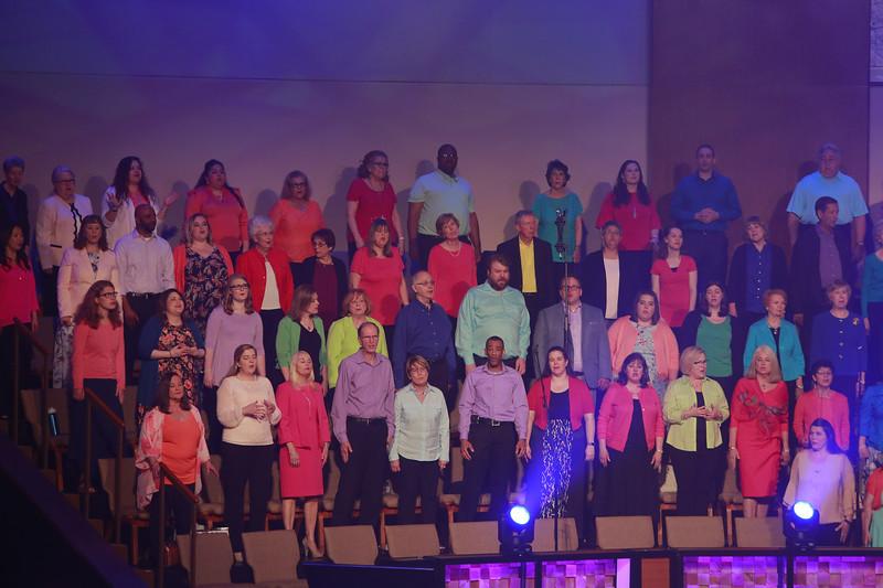 HOUSTON'S FIRST BAPTIST CHURCH EASTER 2018