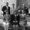 2011 Alumni Awards Recipients with President Steen