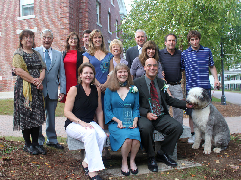 Ut Prosim Award Recipients Arlene '83 and Donald Stoppe '84, '98G and family