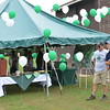Athletics Alumni Tent
