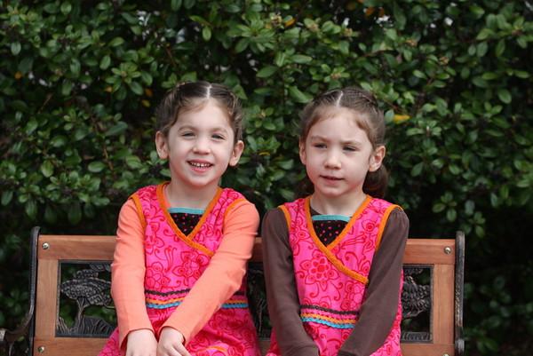 Grace and Maya Anwar 2009
