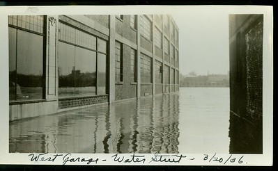 There was a flood in 1936 that flooded downtown Haverhill, Massachusetts.