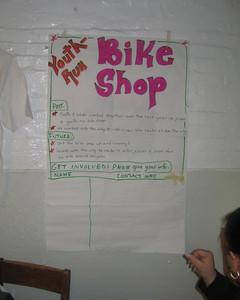 Youth-run Bike Shop