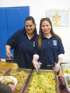 Another Community Dinner!  This one was at the Boys & Girls Club, March 26, 2010.