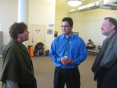 Donna, Hector, and Jay  at Holyoke Health Center
