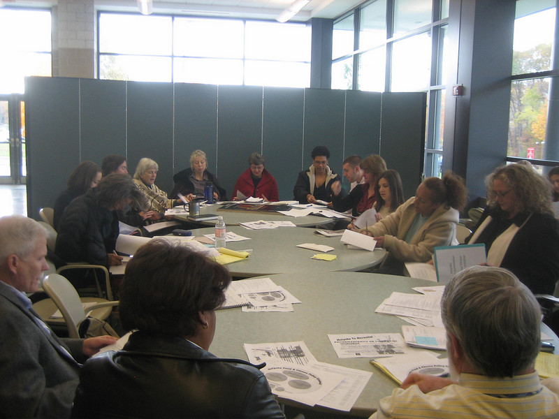 November 8, 2007  We elected a new representative to the Interim Steering Committee, and also selected a person to chair and facilitate our meetings for the next six months.