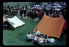 French Grand Prix Rheims July 1958. I believe this is my father's tent.