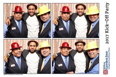Hilton Garden Inn Arlington/ Courthouse Plaza 2017 Kick-Off Party Photo Booth