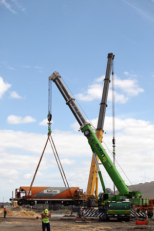 25th February 2012, Gemco Locomotive Relocation, McAleese