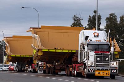 5th May 2012, Regal Transport, West Coast Trucking, DTMT Logistics Link Low Loaders,