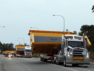 18th February 2012, Tutt Bryant, McAleese, West Coast Trucking, Link Low Loaders, Jonesway, Gavin Transport