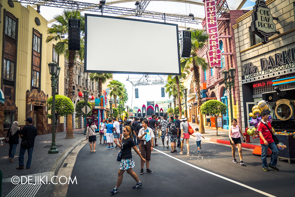 Universal Studios Singapore - Halloween Horror Nights 6 Before Dark Day Photo Report 1 - Hollywood Opening Scaremony screen