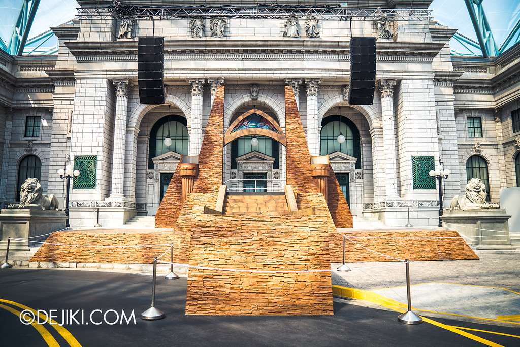 Universal Studios Singapore - Halloween Horror Nights 6 Before Dark Day Photo Report 1 - March of the Dead The Resurrection stage overview