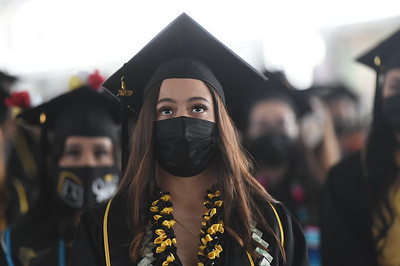 Rongxiang Xu College of Health and Human Services Commencement Ceremony, Class of 2020. Photo by Robert Huskey / Cal State LA