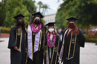 Rongxiang Xu College of Health and Human Services Commencement Ceremony, Class of 2021. Photo by Robert Huskey / Cal State LA