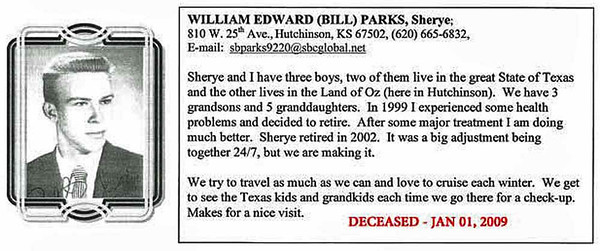 "William Edward ""Bill"" Parks"