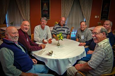 Bruce Lewellyn, Frederick (Fritz) Yates Mendell , Mike Allen, Charles Colburn, ????, Harold Dee Woodward, Larry Phillips