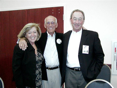 "L-to-R: Donna K. Owston, Jack Alan Cronhardt, Richard George ""Dick"" Owston - October 22, 2006"