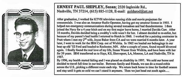 Ernest Paul Shipley - HHS-1956